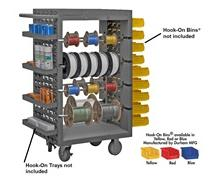 MOBILE WIRE SPOOL RACK